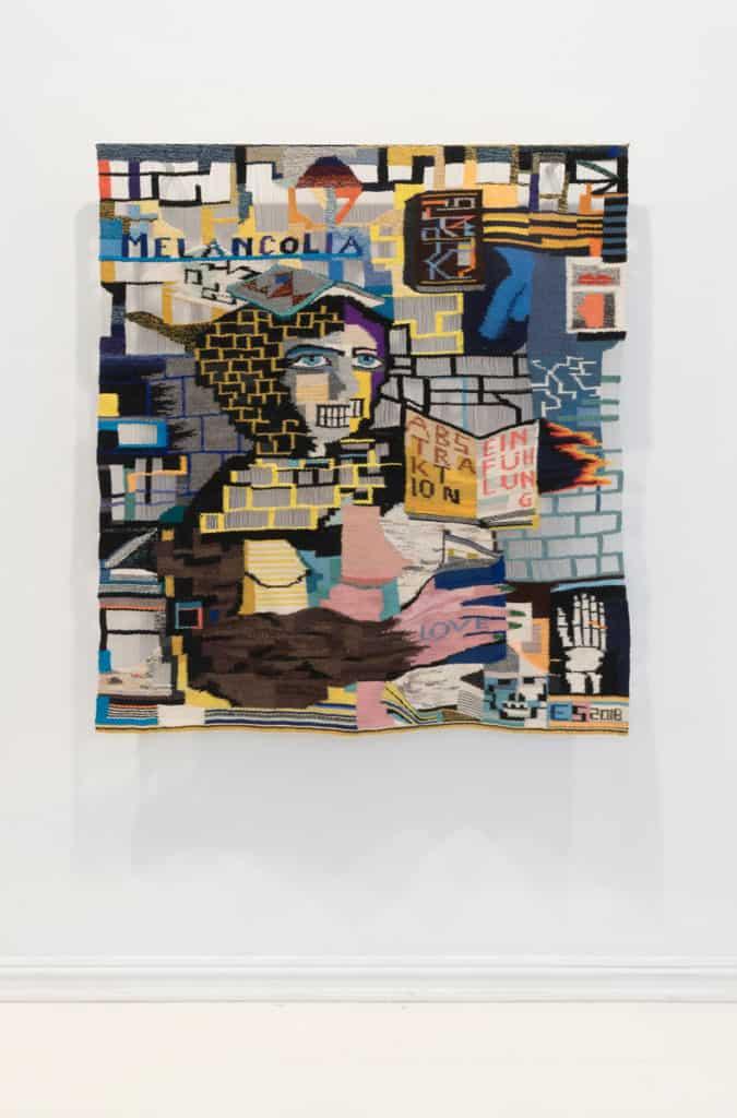 Bilde av Elise Storsveens sitt arbeide Abstraktion und Einfühlung