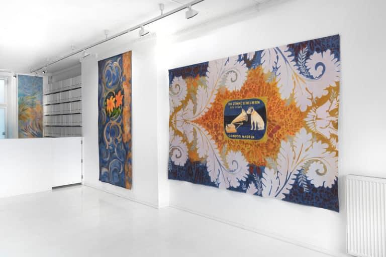 Fra utstillingen Sonate av Irene Myran på SOFT galleri i 2019