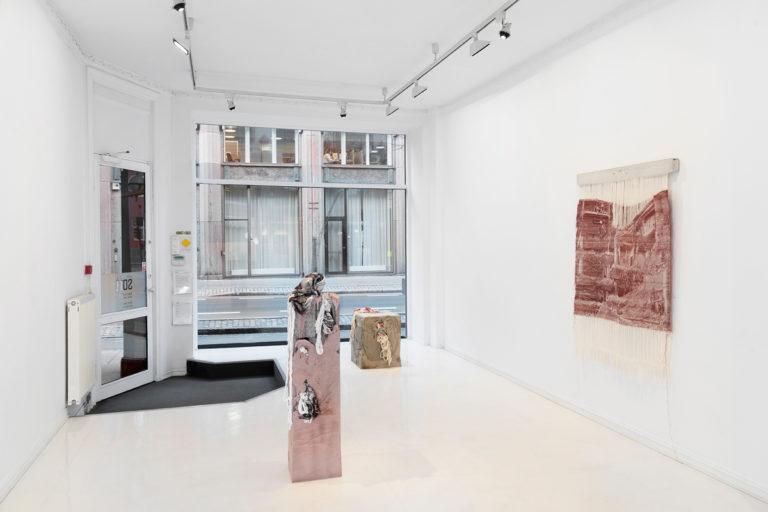 Bilde av Siren Elise Dversnes Dahle sin utstilling Silent Drift på SOFT galleri